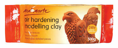 Mont Marte Air Hardening Modelling Clay - Terracotta 500gm