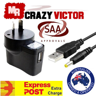 USB Charger Power Adapter for Sony SRS-XB30 Portable Bluetooth Speaker