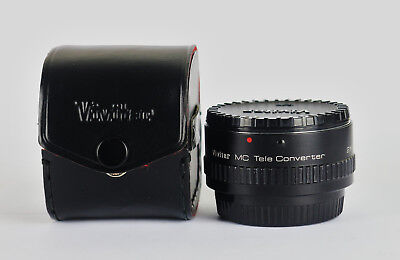 Vivitar Mc Tele Converter 2X 24. Contax/Yashica Mount. Excellent. Made In Japan.