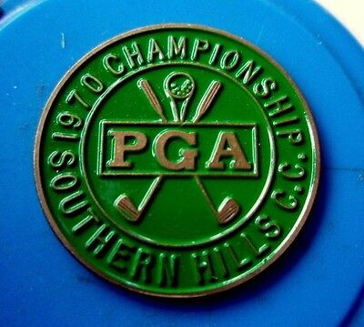 "1970 Us Pga (Dave Stockton's 1St Of Two Majors Titles) 1"" Coin Golf  Ball Marker"
