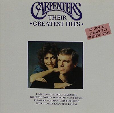 The Carpenters - Carpenters: Their Greatest Hits - The Carpenters CD AIVG The