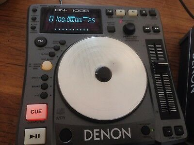 Denon DN-S1000 DJ CD/MP3 Player Scratch CD Turntable x 1