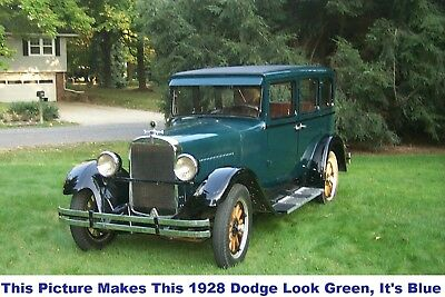 1928 Dodge Other Barn Find! 1928 Dodge Brothers Plymouth Corvette Trade 1929 1930 1931 1932 1963 1967 1969