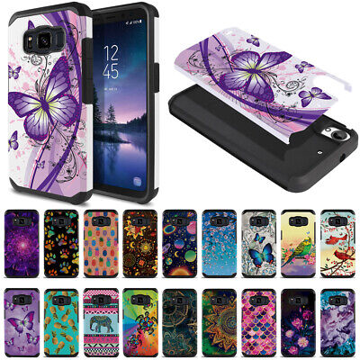 "For Samsung Galaxy S8 ACTIVE G892A 5.8"" Shock Proof Impact Hybrid TPU Case Cover"
