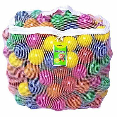 Click N' Play Value Pack of 400 Phthalate Free BPA Free Crush Proof Plas...