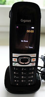 Siemens Gigaset C610H with charger and new battery