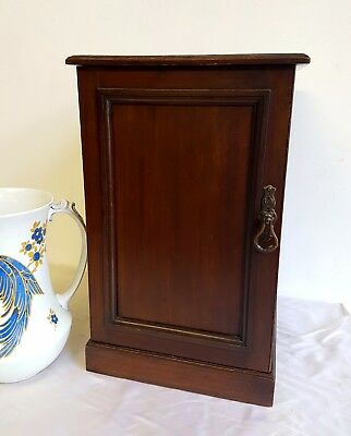 Small Victorian Bedside Cabinet