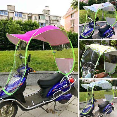 Universal Motor Scooter Umbrella Mobility Sun Shade Rain Dust Covers Waterproof