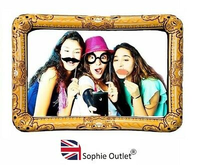 GIANT INFLATABLE PHOTO FRAME Selfie Frame Booth Props Party Celebration 60x80cm
