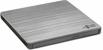 LG (GP60NS60) External Slimline DVD Re-Writer, USB, 8x, Grey, M-Disc Support,...