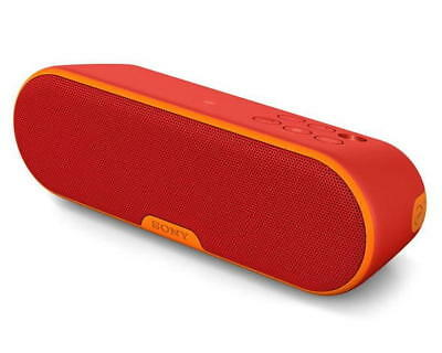 Sony SRS-XB2/RED Personal Wireless Bluetooth Speaker With Extra Bass Red SRS-XB2