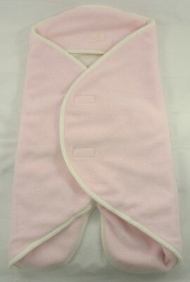 Babynomade REDCASTLE polaire rose 0-6M couverture bébé //Multipurpose blanket