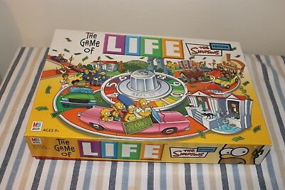 The Simpson Game of Life Board Game