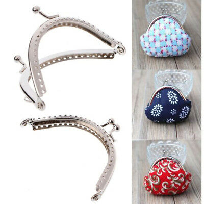 1pc 2pcs 8.5cm For Coin Purse Bag DIY Craft Frame Metal Clasp Lock Accessories