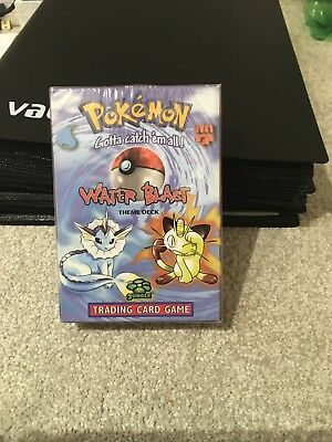 Pokemon cards. Water Blast Deck,Sealed and unopened.