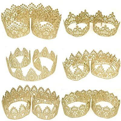 Star Quality Golden Lace for Baby and Adult DIY Craft Crown | Craft Lace for Pri