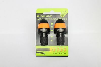 Cycle Indicator Lights Cycl Winglights Indicators for Bicycles. Great Xmas Gift