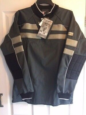 Bnwt Uhlsport Grey Goal Keepers Football Jersey Top Size Large