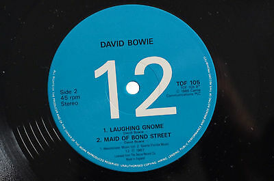 Mega Rare David Bowie Archive 4 Limited Ed 12in Single 4 Tracks V:Ex S:VG+