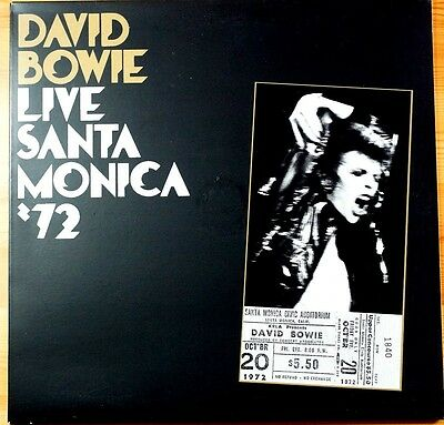Rare David Bowie Santa Monica 72 Double Lp MINT S:NM Numbered:1840 180Gm EU