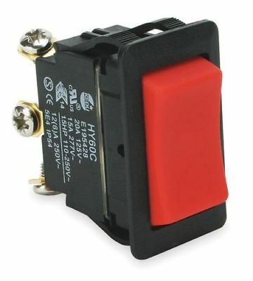 (5) POWER FIRST 2LNE4 Rocker Switch, SPDT, 3 Connections - HY60C 20A, 125V
