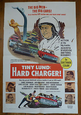 Tiny Lund : Hard Charger original US 1 sheet poster