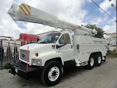 2006 Chevrolet C8500 Altec AM855 55 FT Bucket Truck