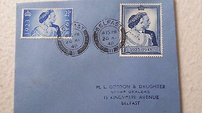 1948 Silver Wedding 1St  Day Cover