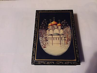 Handpainted Russian Lacquer Box
