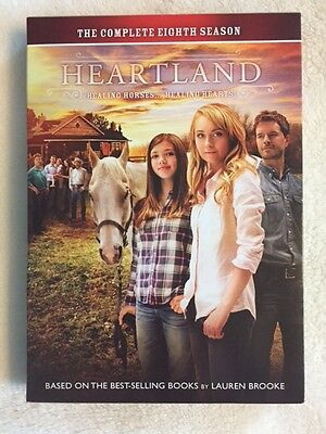 Heartland: The Complete Eighth Season Used Once--Like New! (DVD, 2015, 5 discs)