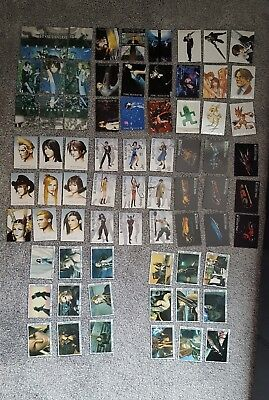 Final Fantasy VIII 8 Complete Visual Set 1-72 triple triad cards