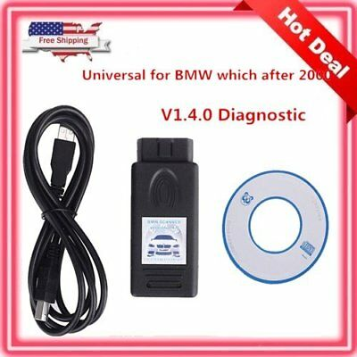 For BMW V1.4.0 Scanner Diagnostic Interface Code Reader Scan Tool E38 E39 E46#L