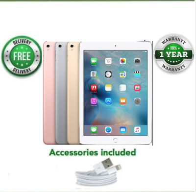 Apple iPad Pro 32/128/256GB, Wi-Fi + 4G-12.9in-VARIOUS COLOURS, Mixed Grades