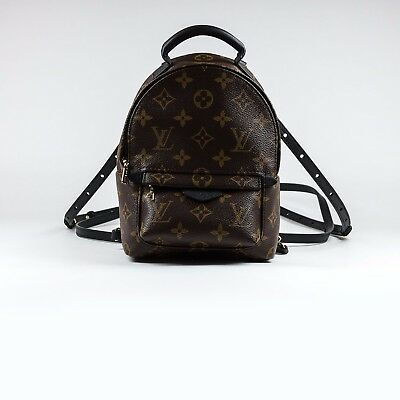 7212c11919ab 100% AUTHENTIC NEW Louis Vuitton Palm Springs Mini Backpack Monogram ...