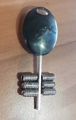 GENUINE Future Fin Grub Screws and Fin Key COMBO. Stainless Steel