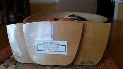 Longaberger Medium Chore Basket, Six-Way Divider. #50059