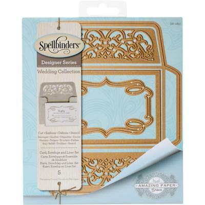 Spellbinders Shapeabilities Dies Becca Feeken Card, Envelope And Liner Set S6080