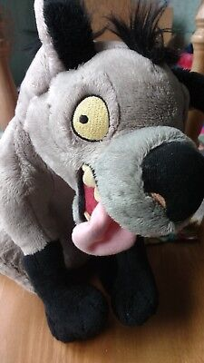 DISNEY STORE Lion King 'Ed' Soft/Plush Toy VERY RARE!!