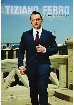 Tiziano Ferro Calendario 2018 MR. TOYS