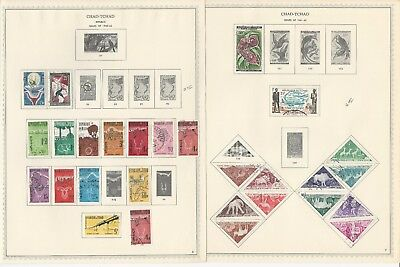 Chad Collection 1960 to 1976 on Minkus Specialty Pages, 80 Pages
