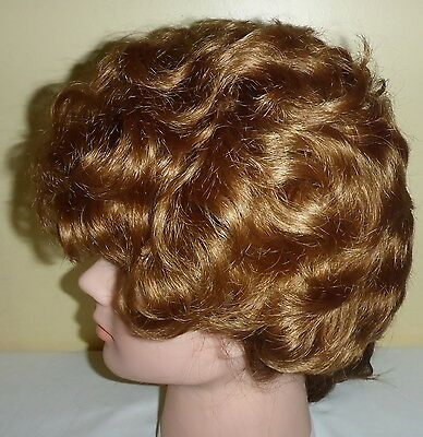 1960's First Lady Auburn Red Wig By Mademoiselle Tresses Toronto Canada & Box