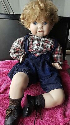 Joey..  Cindy Marschner Reproduction Doll 1991