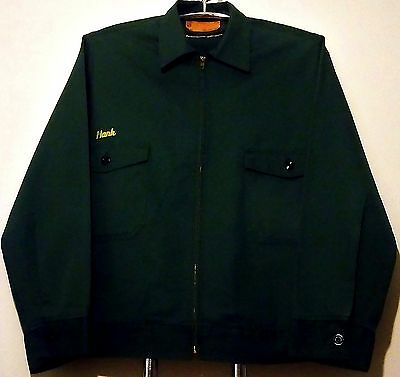 """Mint 1990's King of the Hill """"Hank"""" Embroidered 48-L (FOX Promo) Uniform Jacket"""