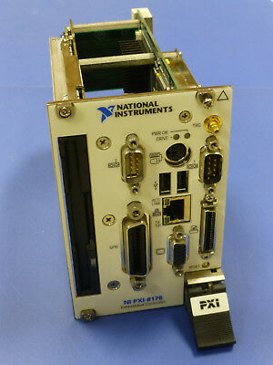 National Instruments NI PXI-8176 Embedded Controller, Windows XP Pro