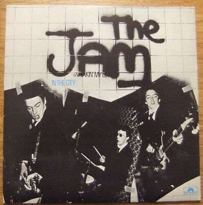"The Jam..in The City....orig.7""...1977....polydor Recs...punk/mod..paul Weller"