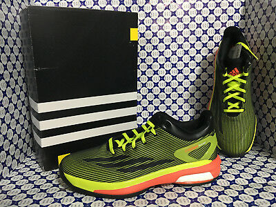 quality design 56203 f871c Scarpe Adidas Basket Uomo - Crazylight Boost Low SCONTATE - Nero Verde -  S83862