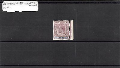 Bahamas MH Mint Hinged Remnant 5 Shillings Stamp Scott # 83 #106282 X