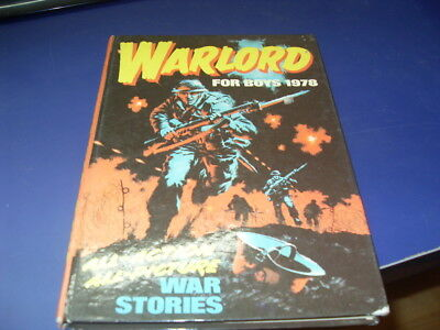 Warlord Book For Boys 1978