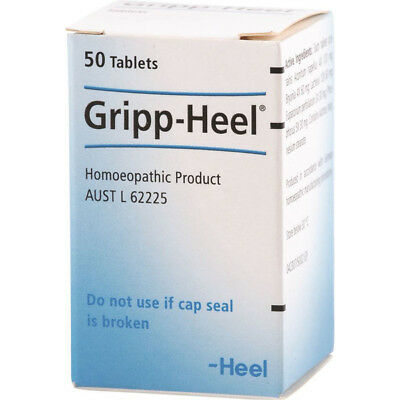 Gripp-Heel *50 tablets by Heel Homeopathy Influenza flu infections fever Germany