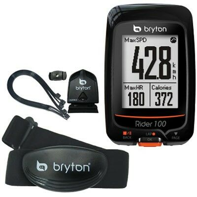 New Bryton Rider 100T GPS Cadence Heart Rate  Bike Cyclo Computer